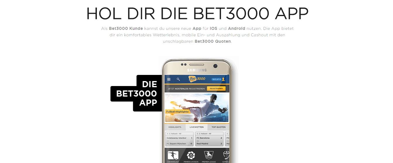 Bet3000 rentable App