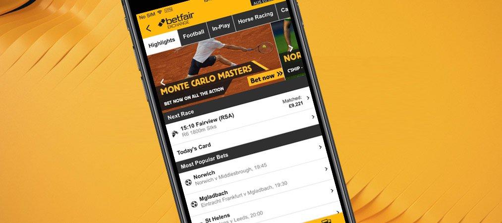 Betfair app für mobile