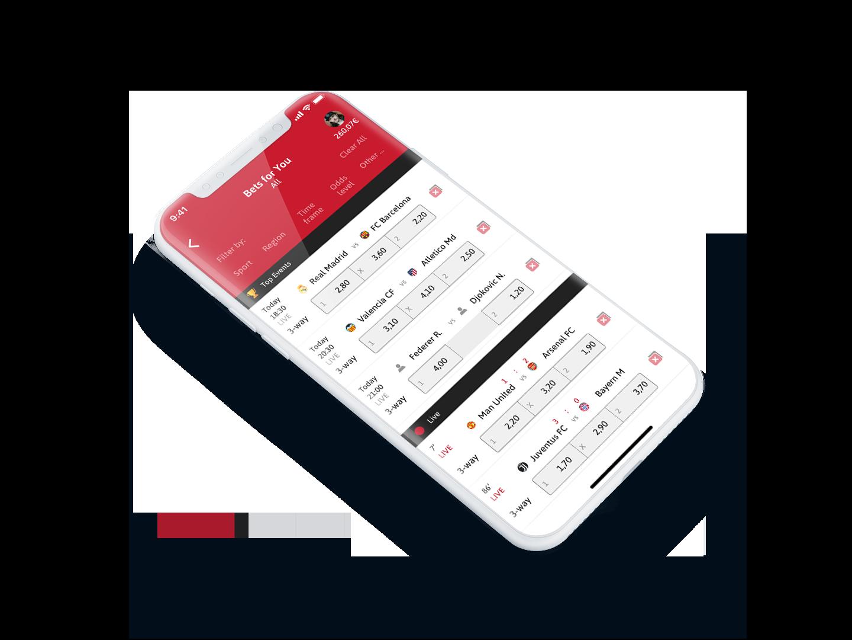 Tipico APK version für Android vs iOS